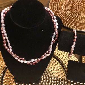 Pearls freshwater double strand gorgeous